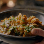Nigella Lawson banana skin and cauliflower curry recipe on Nigella's Cook, Eat, Repeat