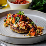 Simon Rimmer Chick Pea and Potato Scones with Spicy Eggs recipe on Sunday Brunch