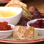 James Martin cranberry sauce with orange, red wine and star anise recipe on This Morning