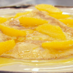 Marcus Wareing crepe Suzette with orange sauce recipe on Masterchef The Professionals
