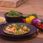 Freddy Forster salmon and sweetcorn frittata recipe on Steph's Packed Lunch
