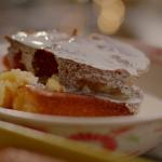Nigella Lawson lemon and elderflower pudding recipe on Nigella's Cook, Eat, Repeat
