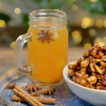 Ainsley Harriott warm mulled cider with sweet and spicy nuts recipe on Ainsley's Food We Love