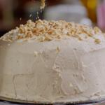 Nigella Lawson layered chocolate and peanut butter cake recipe on Nigella's Cook, Eat, Repeat