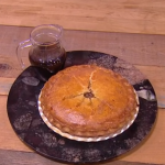 John Whaite minced beef and horseradish pie recipe on Steph's Packed Lunch
