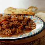 Sabrina Ghayour spiced pork stew recipe on Ainsley's Food We Love