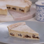 Phil Vickery Yorkshire curd tart with cottage cheese and ground almonds recipe on This Morning