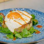 Ainsley Harriott bubble patties recipe on Ainsley's Festive Food We Love