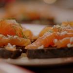 Nigella Lawson smoked salmon with black bread recipe on Nigella's Cook, Eat, Repeat Christmas Special