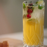 Jimmy Doherty sparkling mojito cocktail recipe on Jamie and Jimmy's Festive Feast
