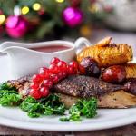 Simon Rimmer Charred Duck with Orange sauce recipe on Sunday Brunch