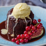 Simon Rimmer chocolate figgy pudding recipe on Sunday Brunch