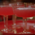 Nigella Lawson pomegranate fizz with Muscat sparkling wine recipe on Nigella's Cook, Eat, Repeat: Christmas Special