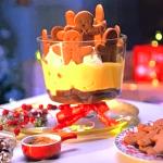 Anton Du Beke gingerbread Christmas trifle recipe on This Morning