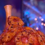 Clodagh Mckenna pineapple glazed ham recipe on Steph's Packed Lunch