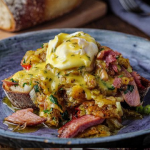 Simon Rimmer Glazed Ham Breakfast Hash recipe on Sunday Brunch