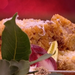 John Whaite deep fried lasagne bites recipe on Steph's Packed Lunch