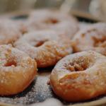 Nigella Lawson appelflappen Dutch dougnut recipe on Nigella's Cook, Eat, Repeat: Christmas Special