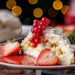 Simon Rimmer Christmas arctic roulade recipe on Sunday Brunch
