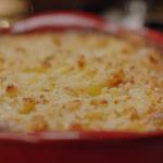 Nigella Lawson Jansson's temptation potatoes and cream recipe on Nigella's Cook, Eat, Repeat Christmas Special