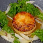 Raymond Blanc Celeriac Tatin with Caramelised Celeriac, Chicory and Kale recipe on Simply Raymond Blanc