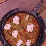 John Whaite frying pan lasagne recipe on Steph's Packed Lunch