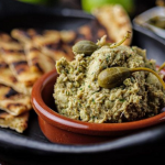 Simon Rimmer Smoked Mackerel with Avocado Pate and Flatbread recipe on Sunday Brunch