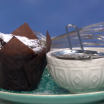 Phil Vickery chocolate muffins with tomato soup recipe on This Morning