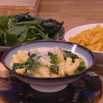 Jack Stein easy pasta with seasonal greens recipe on Steph's Packed Lunch
