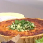 Phil Vickery quiche with ham, milk and tomato soup recipe on This Morning