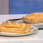 Ainsley Harriott special salmon en croute with lemon and cream cheese recipe on This Morning