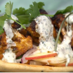 Simon Rimmer Madras cauliflower with pickled fennel recipe on Sunday Brunch