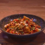 John Whaite Korean Disco Chips recipe on Steph's Packed Lunch