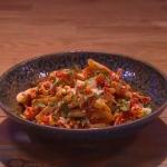 John Whaite Korean Disco Chips recipe on Steph's Packed Lunch
