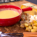 Raymond Blanc cheese fondue recipe on Simply Raymond Blanc