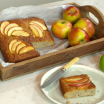 Melissa Hemsley fruit bowl bake with oats, apples and bananas recipe on Lorraine