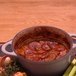 Freddy Forster Lancashire hot pot recipe on Steph's Packed Lunch