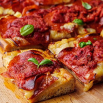 Simon Rimmer Detroit style pizza recipe on Sunday Brunch