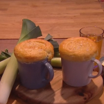 John Whaite chicken, leek and cider pot pie recipe on Steph's Packed Lunch
