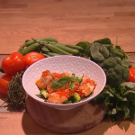Jean-Christophe Novelli seafood and tomato stew recipe on Steph's Packed Lunch