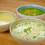 Maman Blanc vegetable soup three ways recipe on Simply Raymond Blanc
