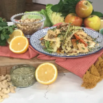 Hugh Fearnley-Whittingstall seared winter vegetables with dukka and citrus hummus recipe on This Morning