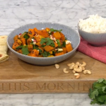 Nisha Katona 10 minutes butternut squash, sweet potato and spinach curry recipe on This Morning