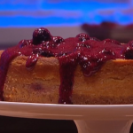 Ruby Bhogal blueberry cheesecake recipe on Steph's Packed Lunch