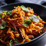 Simon Rimmer Curry Carrot Salad recipe on Sunday Brunch