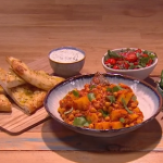 Ruby Bhogal chana masala chickpea curry recipe on Steph's Packed Lunch