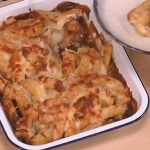 Michelle Visage disco fries  with cheese and gravy recipe on Steph's Packed Lunch