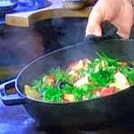 James Martin fish stew with salmon and sherry vinegar recipe on James Martin's Saturday Morning