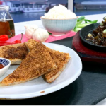 Gok Wan sesame prawn toast with beef in OK sauce recipe on This Morning