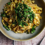 Simon Rimmer anchovy and breadcrumb pasta recipe on Sunday Brunch